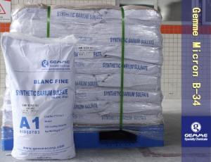 超细便面处理合成硫酸钡  Gemme Micron B-34